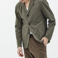 Baldwin Denim - Coats and Jackets - The Jack Utility Blazer in Khaki 1.19.16