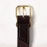 Imogene + Willie - Belts and Suspenders - brown emil erwin signature belt3 1.23.16