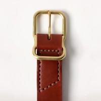 Imogene + Willie - Belts and Suspenders - chestnut emil erwin signature belt 1.23.16