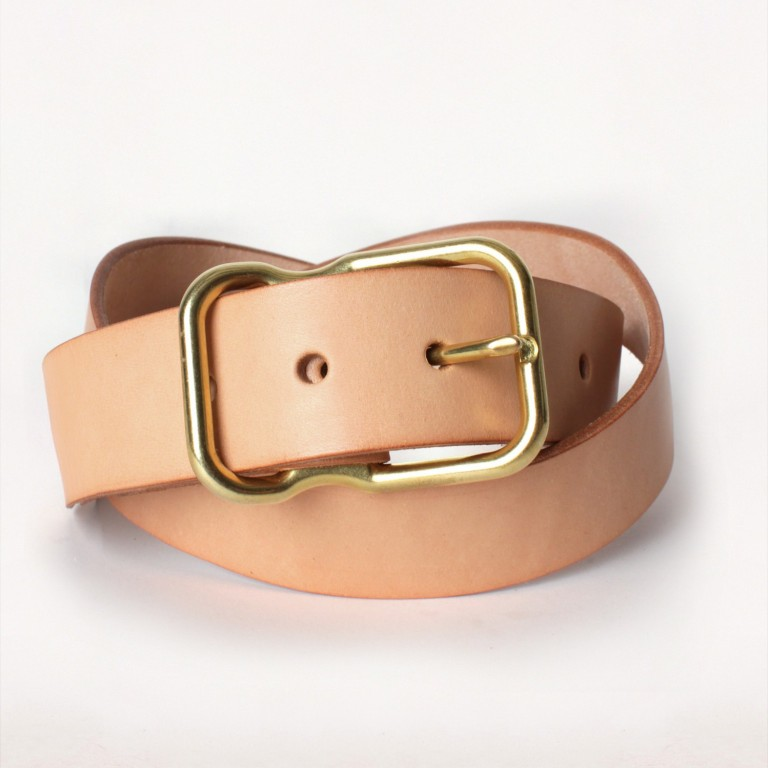 Imogene + Willie - Belts and Suspenders - natural emil erwin signature belt 1.23.16