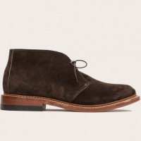 Oak Street Bootmakers - Casual Shoes - Chocolate Suede Campus Chukka 1.26.15