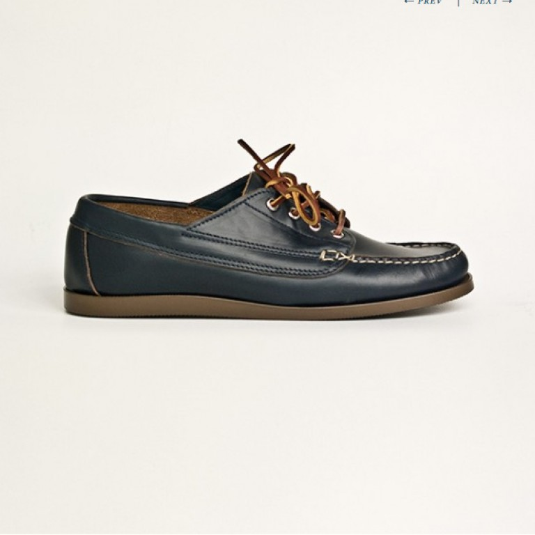 Oak Street Bootmakers - Casual Shoes - Navy Trail Oxford 1.26.15