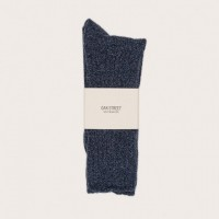 Oak Street Bootmakers - Underwear and Socks - Indigo Trail Sock 1.26.16