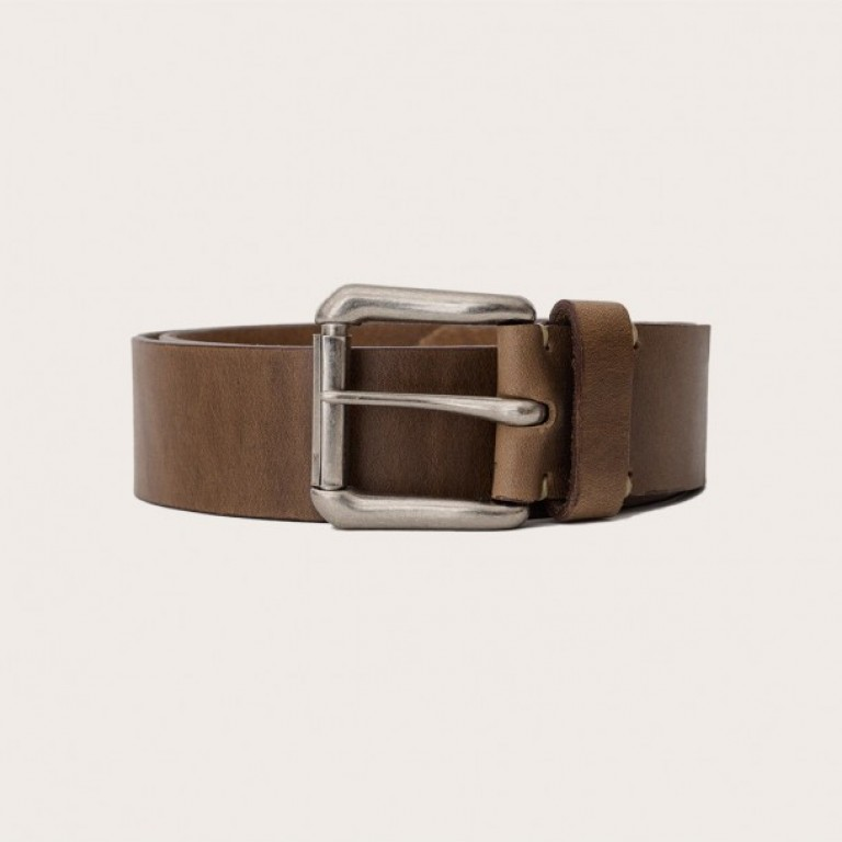 Oak Street Bootmakers_Categories_Belts and Suspenders_Images_natural roller buckle belt 2 4.19.15