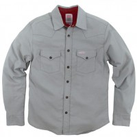 Topo Designs - Casual Button-Down Shirts - Mountain Shirt - Flannel - Gray
