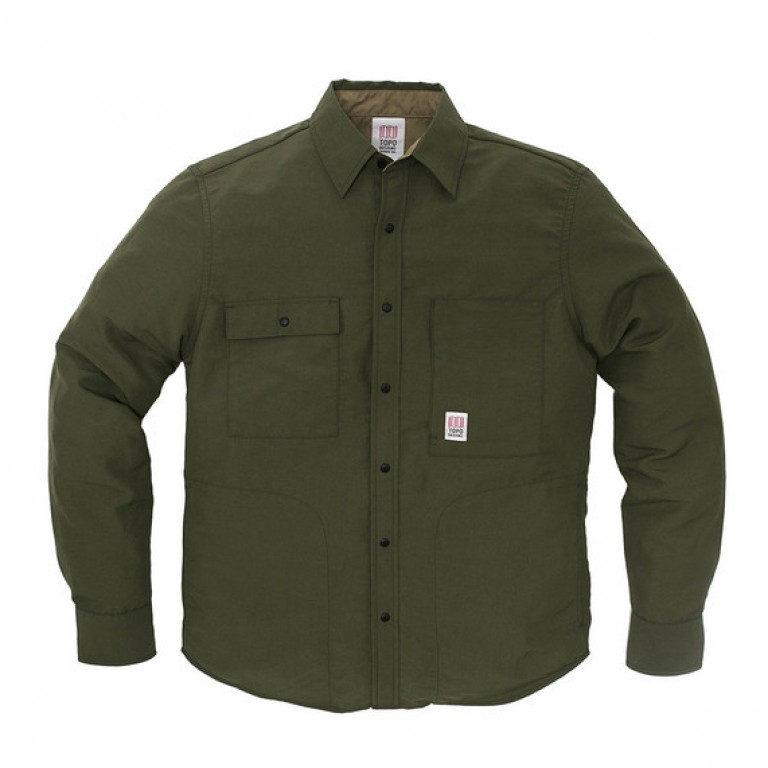 Topo Designs - Coats and Jackets - Breaker Shirt Jacket Olive