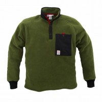 Topo Designs - Coats and Jackets - Fleece Jacket Olive