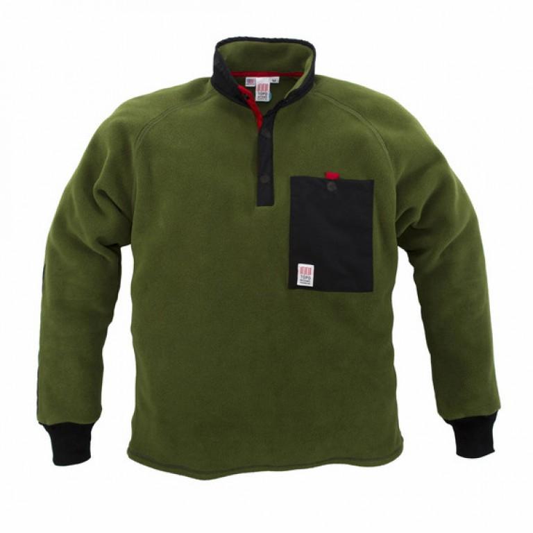 Topo Designs - Coats and Jackets - Fleece Jacket Olive