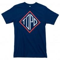 Topo Designs - T-Shirts - Diamond Tee - Blue - 5.18.15