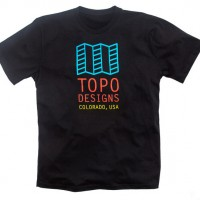 Topo Designs - T-Shirts - Original Logo Tee - Black - 5.18.15