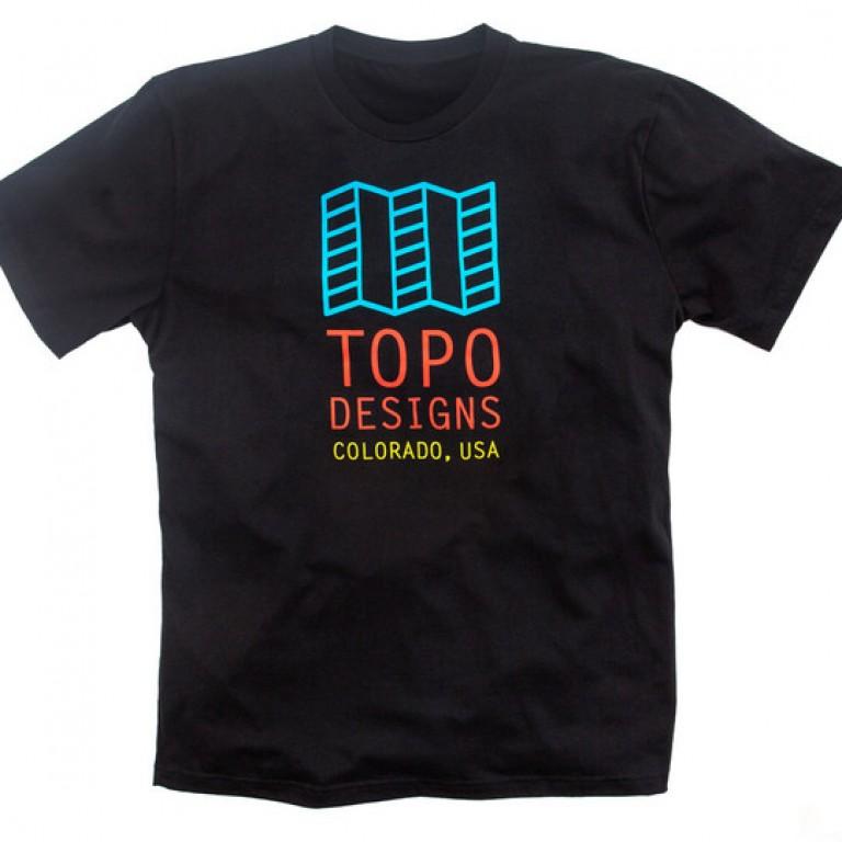 Topo Designs - T-Shirts - Original Logo Tee - Black - 5.18.15