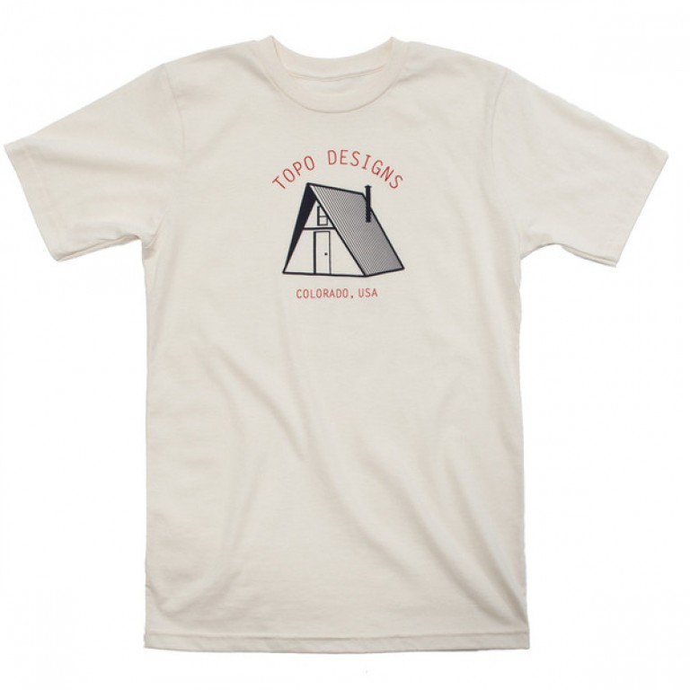 Topo Designs - T-Shirts - Shelter Tee - A-Frame - 5.18.15