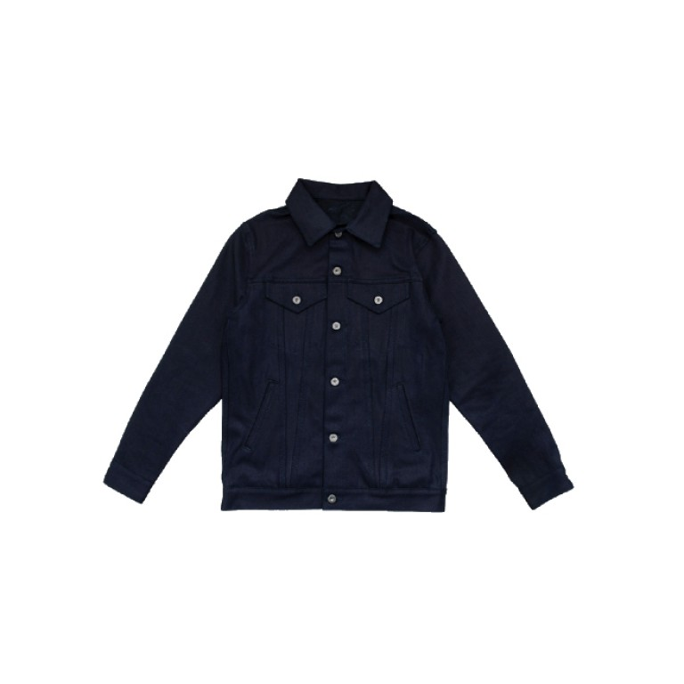 3sixteen - Coats and Jackets - Type 3s Denim Jacket Shadow Selvedge