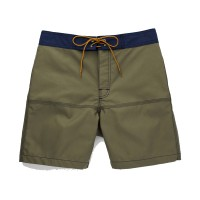Almond Surfboards - Swimwear - Lumberjack Trunks Green