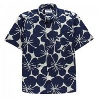 Aloha Sunday - Casual Button-Down Shirts - Kali Indigo