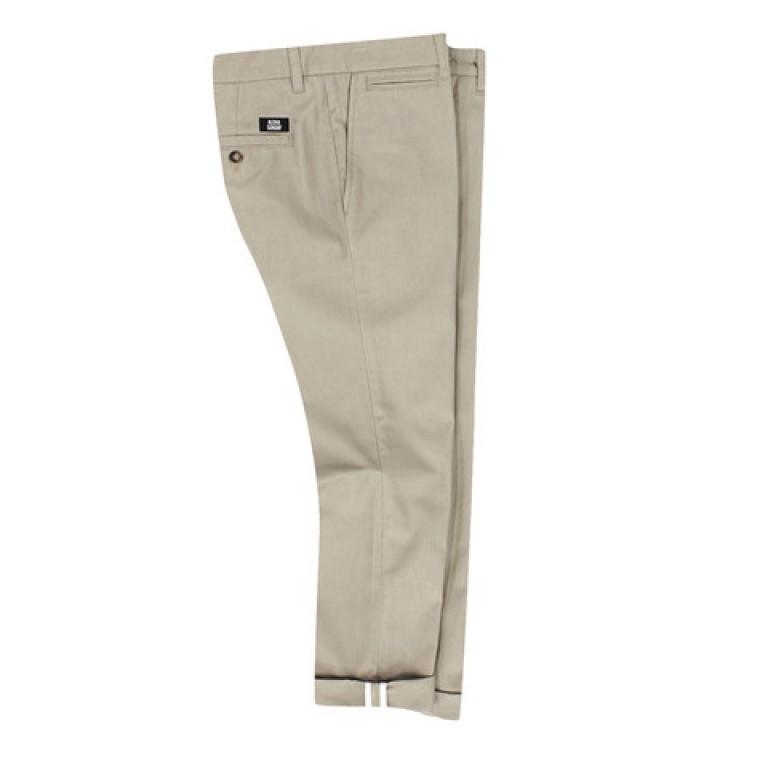 Aloha Sunday - Pants - Pacific Cropped Chino Khaki