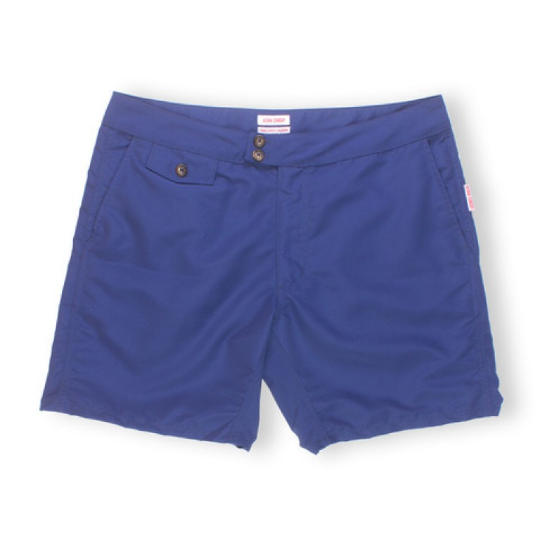 Aloha Sunday - Swimwear - Lanikai 16in Deep Blue Swim Shorts