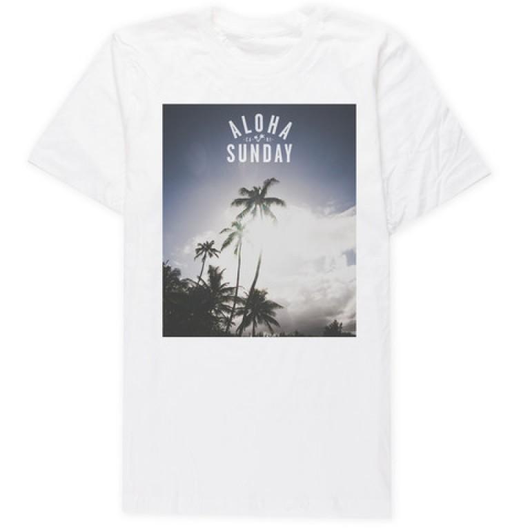 Aloha Sunday - T-Shirts - Pamai White