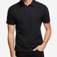 American Giant - Polos - Classic Polo Black