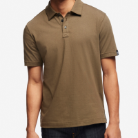 American Giant - Polos - Classic Polo Olive Brown