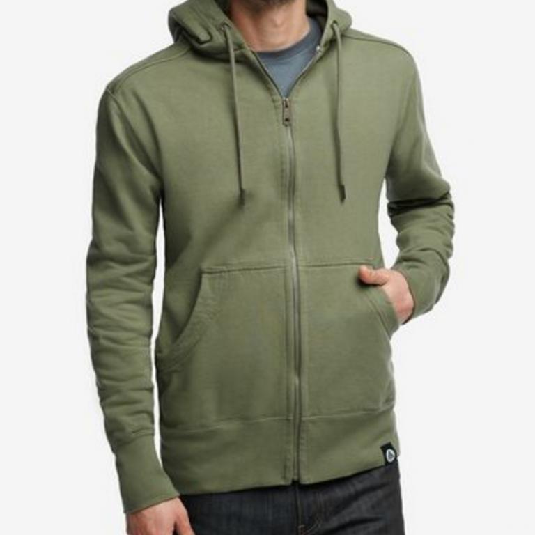 American Giant - Sweatshirts - Classic Full Zip Eucalyptus