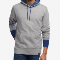American Giant - Sweatshirts - Classic Pullover Heather Grey Denim