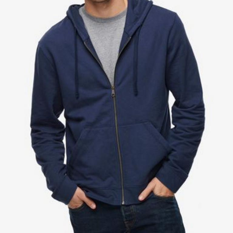 American Giant - Sweatshirts - Essential Full Zip Navy