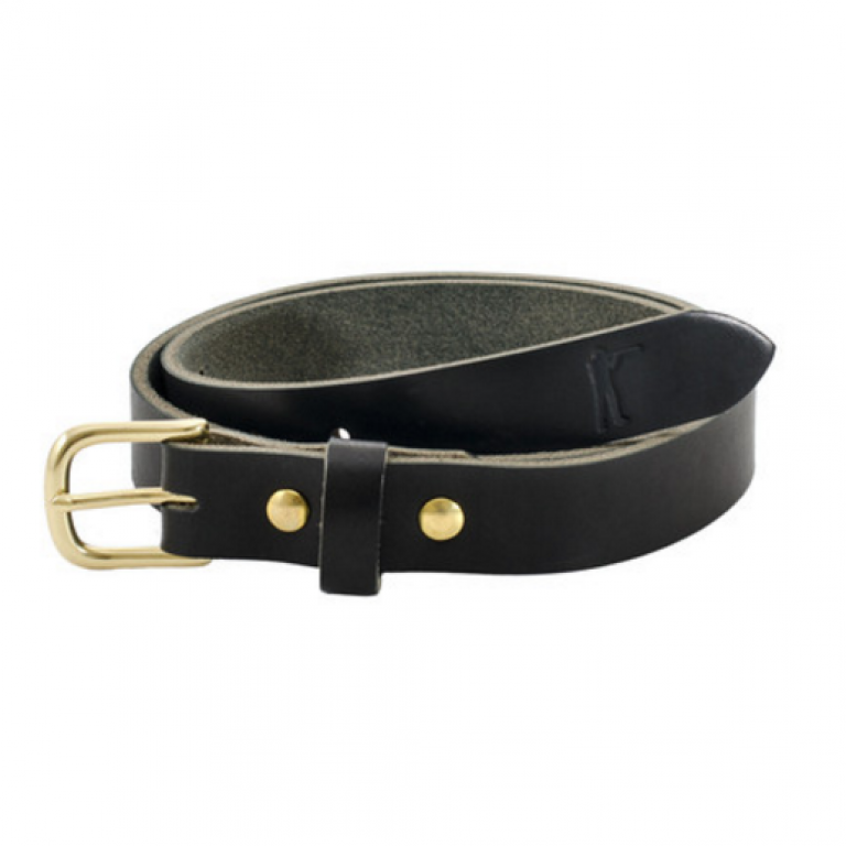 Ball and Buck - Belts and Suspenders - The-Premium-Leather-Belt-Black
