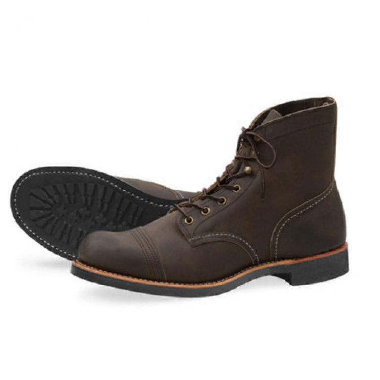 Ball and Buck - Boots - American-Highway-Iron-Ranger-Waxed-Earth