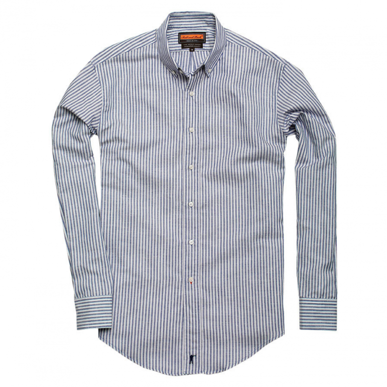 Ball and Buck - Casual Button Down Shirts - The-Scout-Shirt-Ennis-Stripe