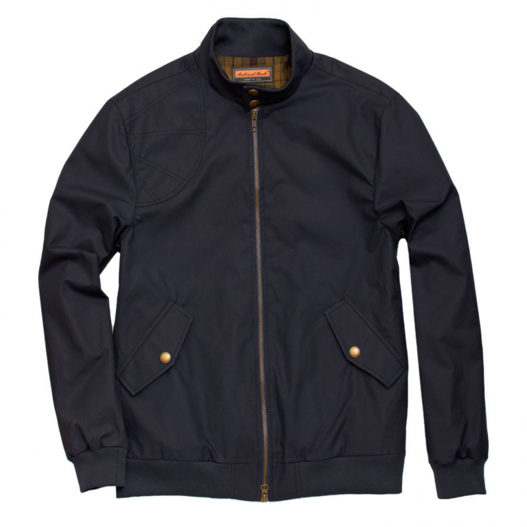 Ball and Buck - Coats and Jackets -The-Harrington-Jacket-Navy