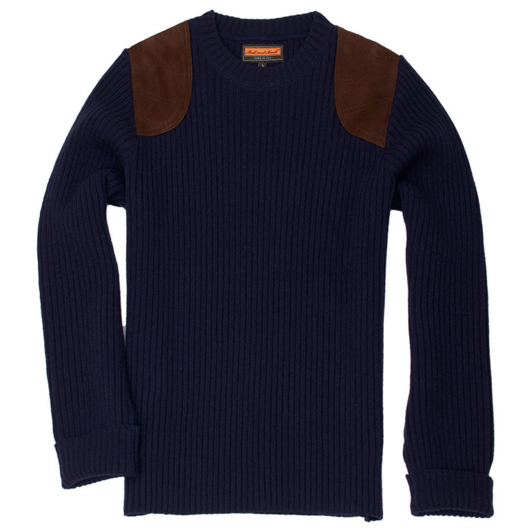 Ball and Buck - Sweaters -The-Commando-Sweater-Navy