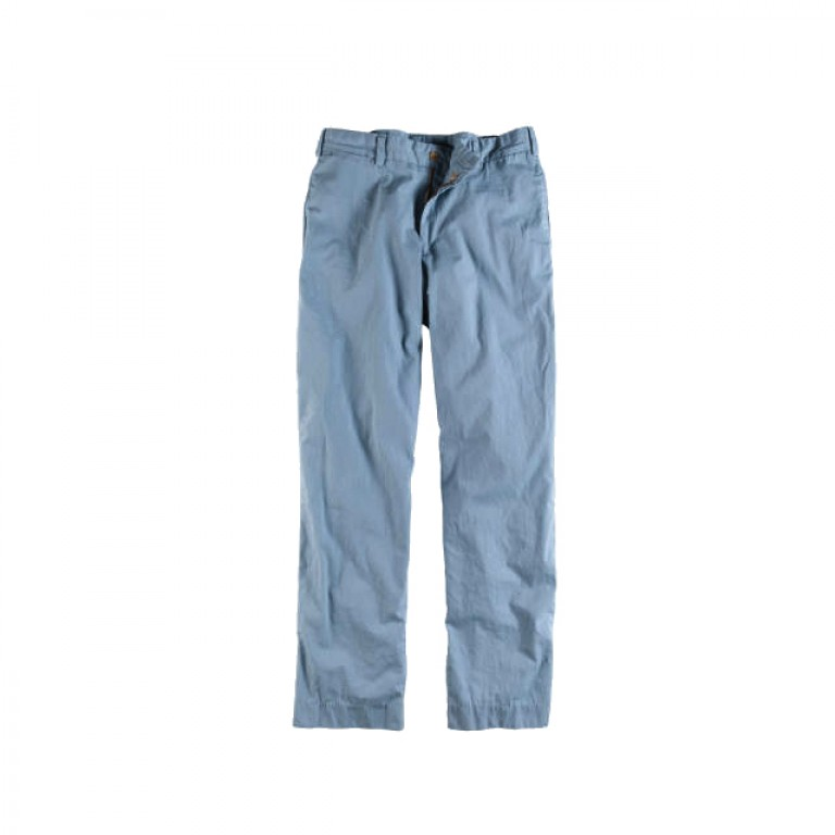 Bills Khakis - Pants - Poplin M2 Pant Dusty Blue