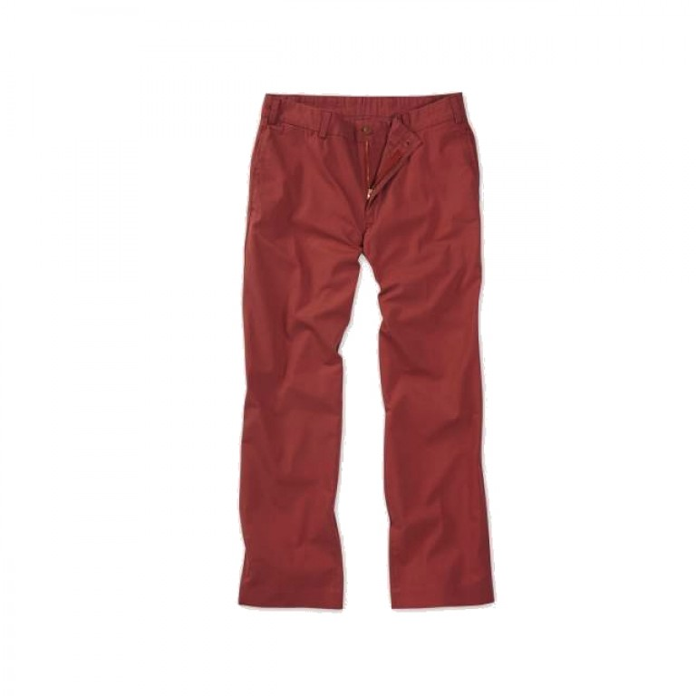 Bills Khakis - Pants - Poplin M2 Weathered Red