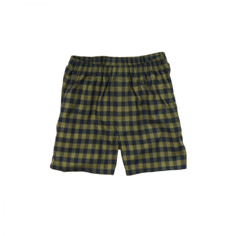 Bills Khakis - Underwear and Socks - Bills Boxers Loden Navy Check