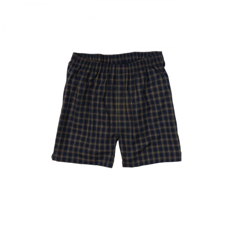 Bills Khakis - Underwear and Socks - Bills Boxers Navy Green Tartan