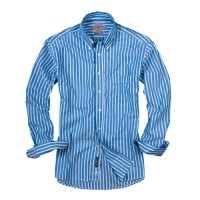 Bills Khakis_Categories_Casual Button-Down Shirts_Images_Bengal Stripes Navy 4.26.15