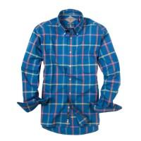 Bills Khakis_Categories_Casual Button-Down Shirts_Images_Robinson Plaid Navy Windowpane 4.26.15