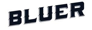 Bluer Denim Logo Rectangle