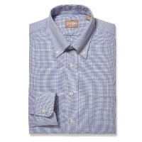 Gitman Bros - Dress Shirts - Button Down Graph Check Navy