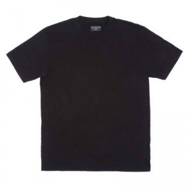 Goodlife - T-Shirts - Core Crewneck T-Shirt Black