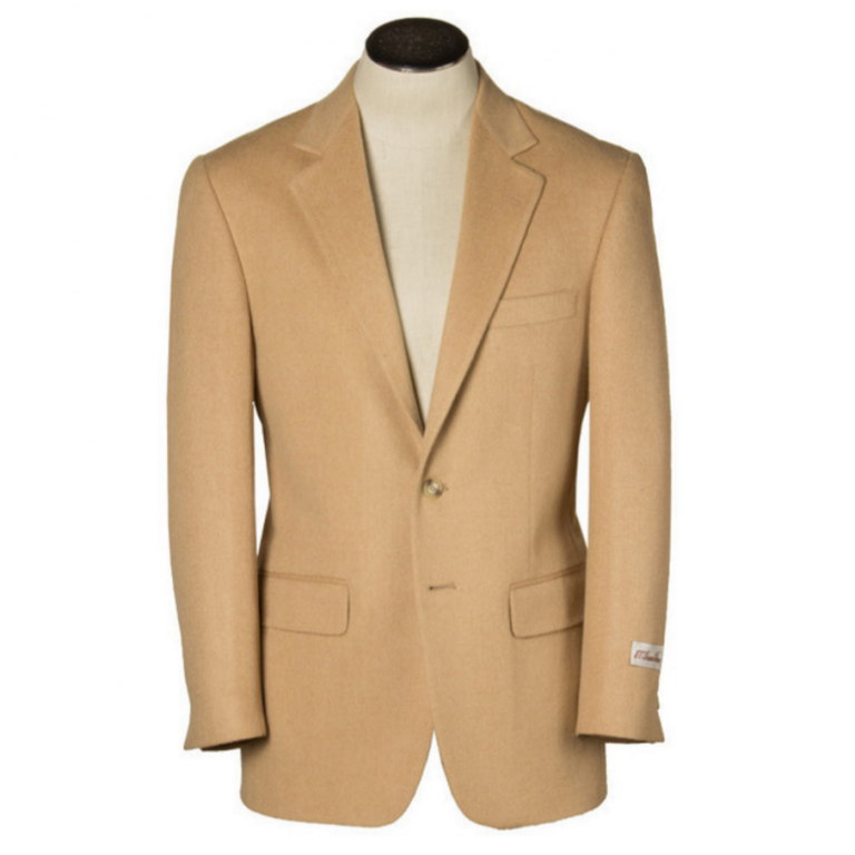 Hardwick - Suits and Sportcoats - Bristol Camel Hair Two-Button Sport Coat