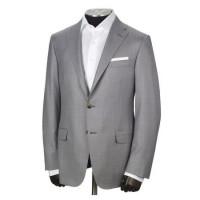 hickey freeman dove grey summer suit