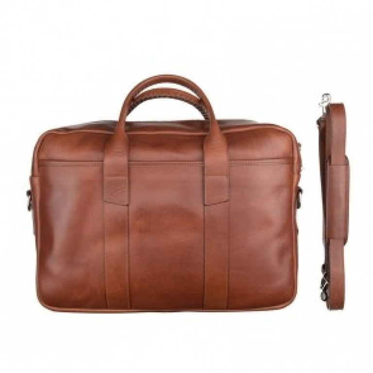 rancourt and company brown everyday briefcase