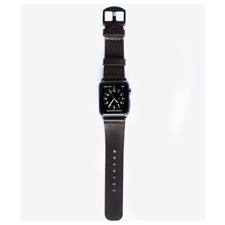 apple watch band dark brown_grande