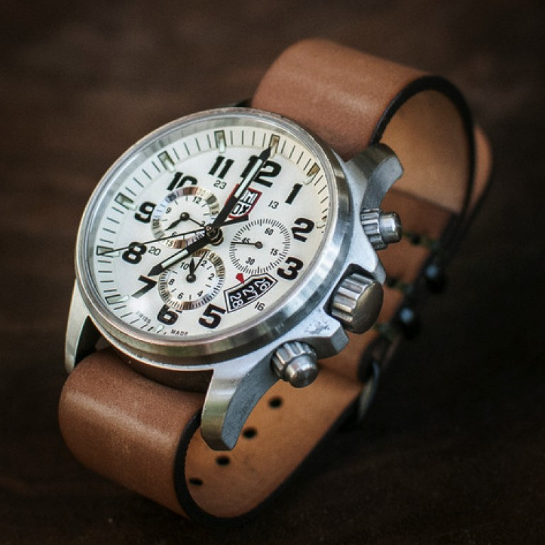 cordovan sample watch band