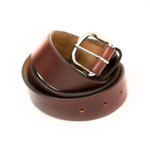buck mason brown 30 year belt