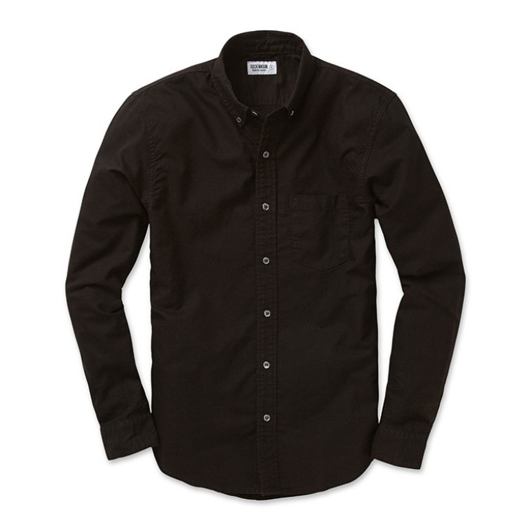 buck mason black oxford