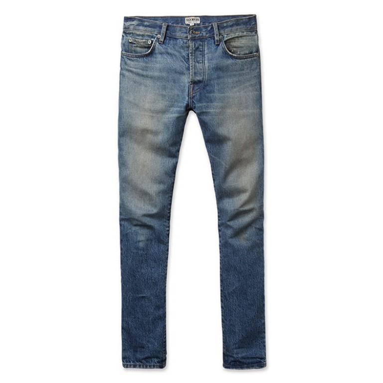 buck mason slim fit boss wash denim jeans