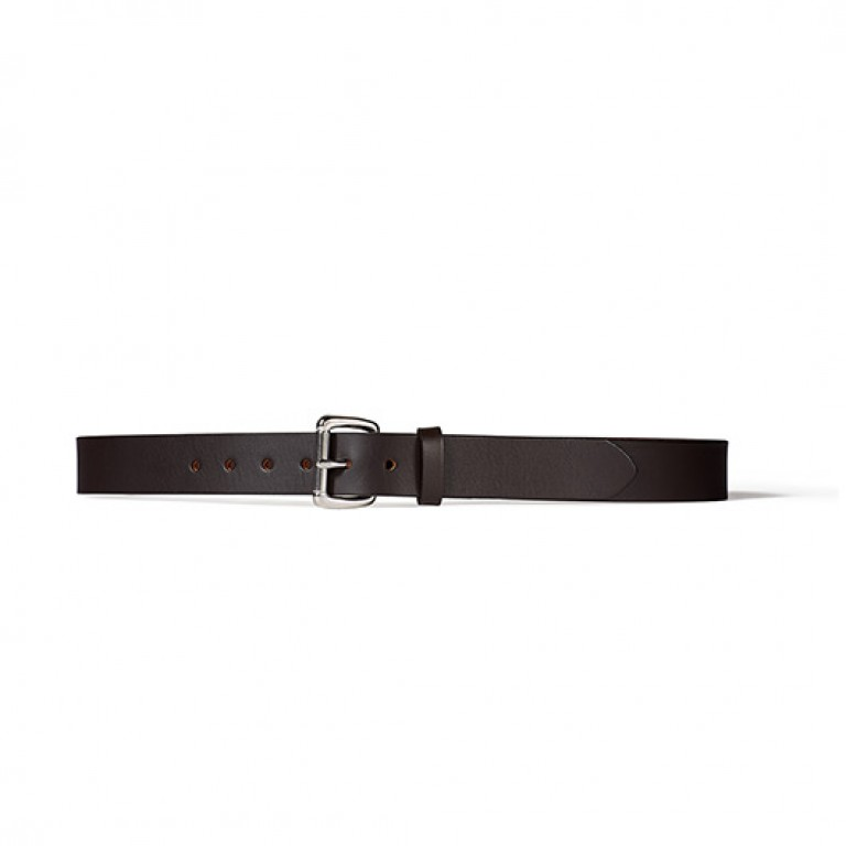wilson black 1 1/4 inch leather belt